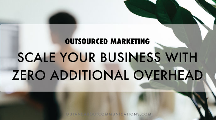 Outsourced Marketing- Scale Your Business with Zero Additional Overhead