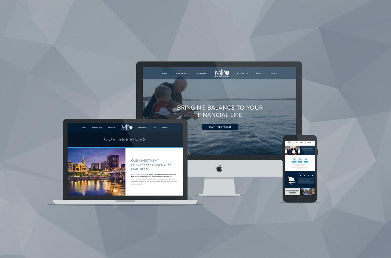 The Big Reveal- MJP Wealth Advisors New Site