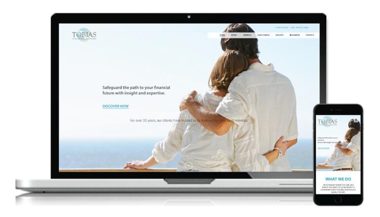 Website and Branding Redesign for Tobias Financial Advisors